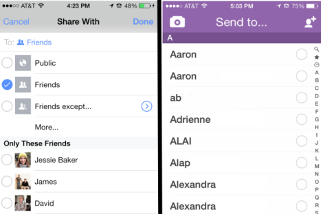 facebook-and-snapchat-private-sharing-side-by-side