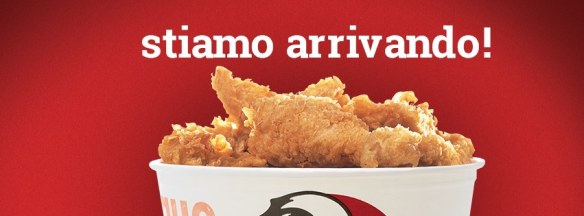 KFC apre in Italia